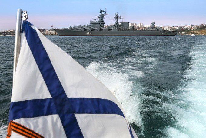 В Севастополе освятят Андреевские флаги кораблей и судов обеспечения ЧФ