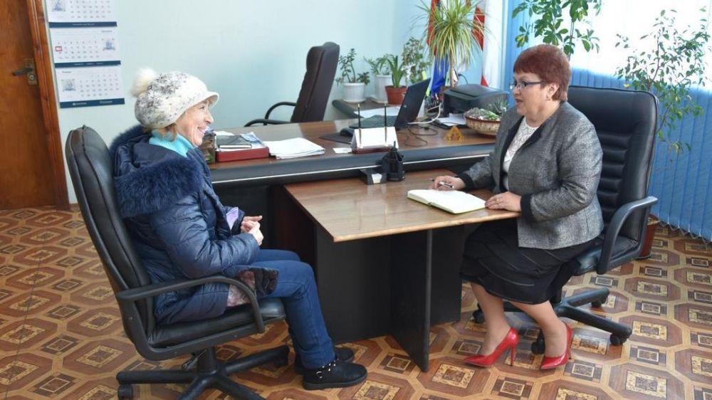 Председатель Красноперекопского городского совета Мария Стадник провела очередной приём граждан.