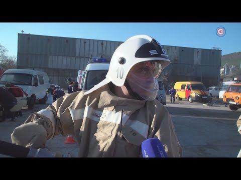 Севастопольские спасатели провели масштабное учение
