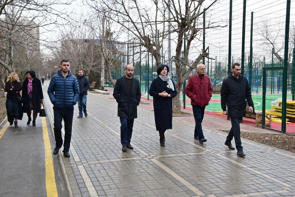 Как преображается парк Грэсовский в Симферополе