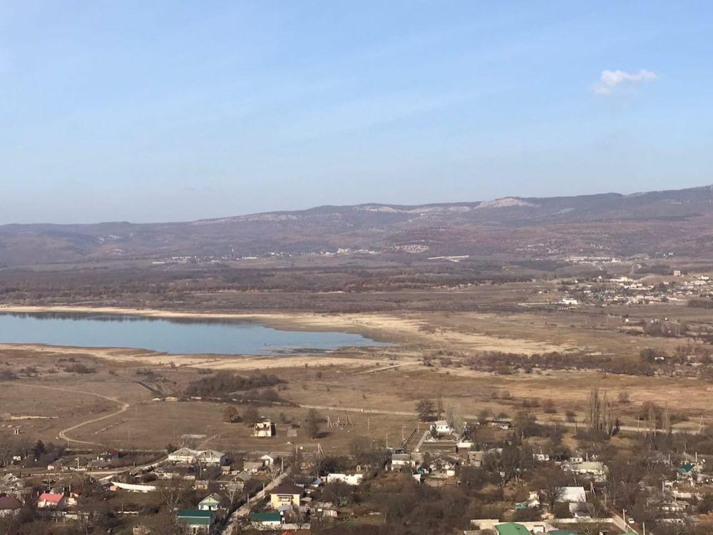 Стал известен запас воды в Чернореченском водохранилище Севастополя