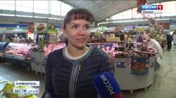 Как изменится ценовая политика на рынках Крыма под Новый год?