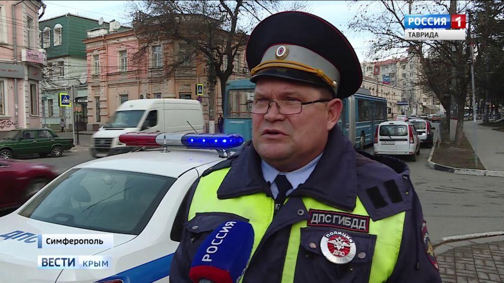 Нарушение и наказание: в Симферополе активно борются с нерадивыми водителями
