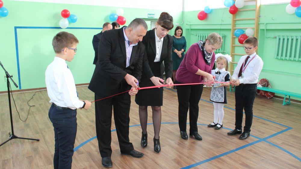 В МБОУ Кировская СОШ состоялось торжественное открытие спортивного зала после капитального ремонта