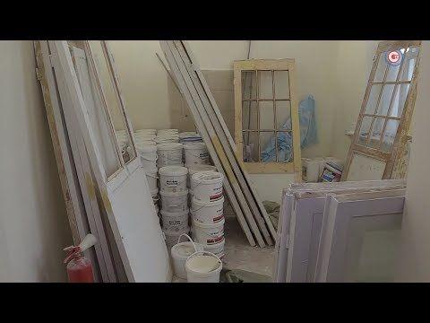 В городской инфекционной больнице завершают ремонт четырех корпусов