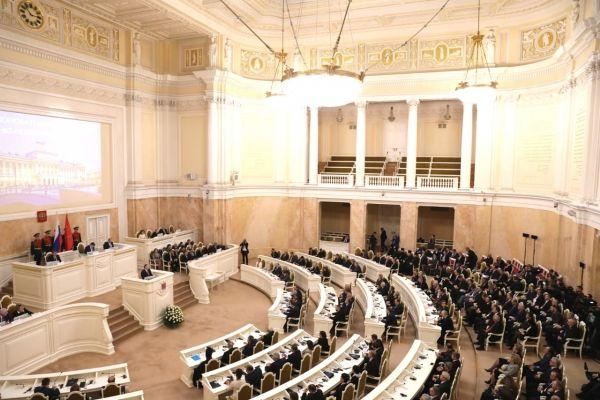 Владимир Константинов принял участие в торжественном заседании, посвященном 25-летию Законодательного Собрания Санкт-Петербурга