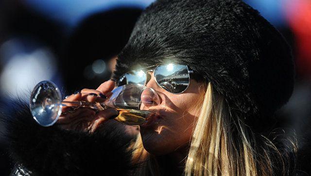 Как правильно пить шампанское