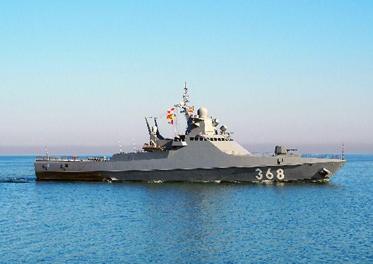 Патрульный корабль «Василий Быков» вернулся из Средиземноморья