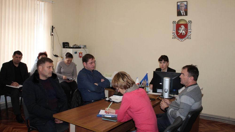 Глава Администрации Ленинского района Екатерина Юровских провела выездное совещание в Семисотском сельском поселении