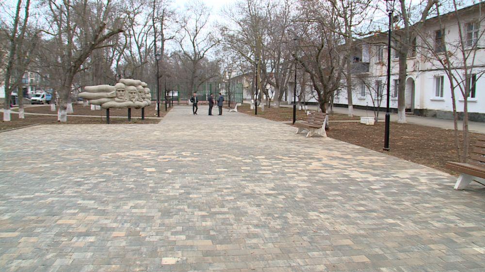 Скверы в Каче власти не торопятся принимать после ремонта