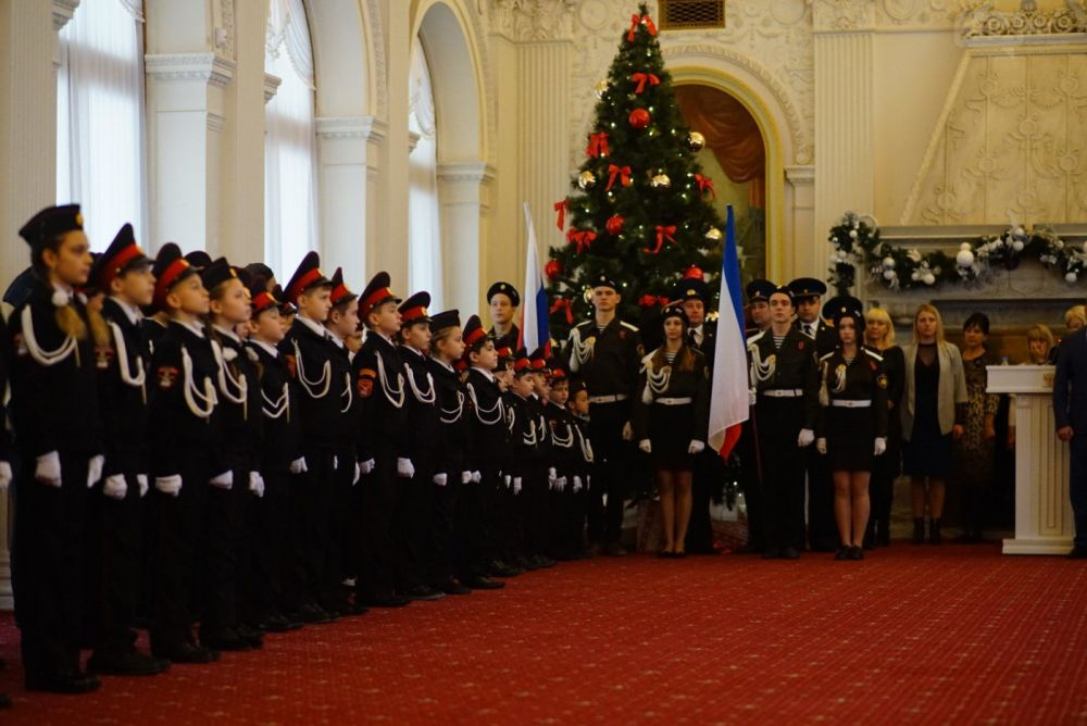 Юные кадеты Ялты примут присягу в Ливадийском дворце