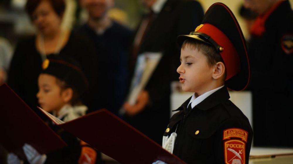 Учащиеся кадетских классов примут присягу в Ливадийском дворце