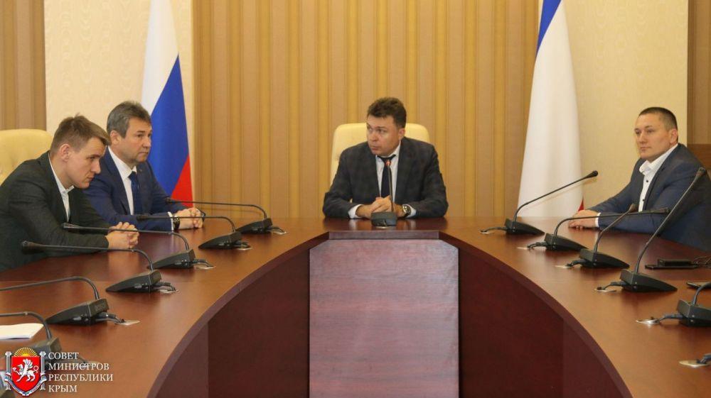 Нового министра топлива и энергетики Крыма представили коллективу