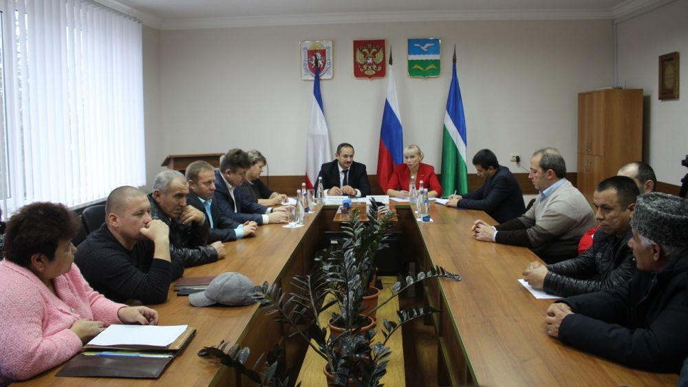 Альберт Кангиев с рабочим визитом посетил Первомайский район