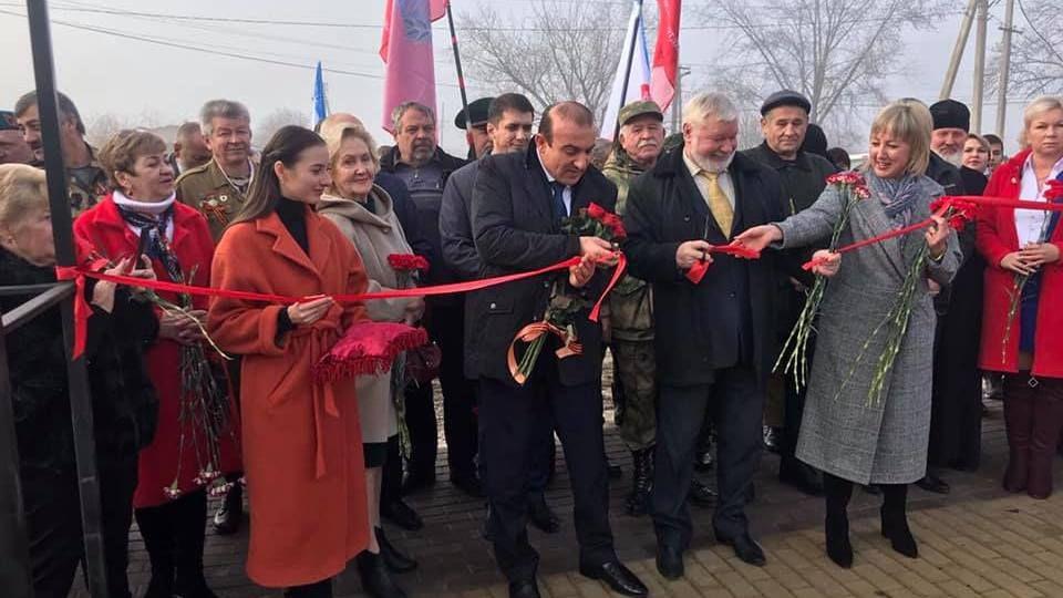 В Чистеньком торжественно открыли сквер воинам-интернационалистам