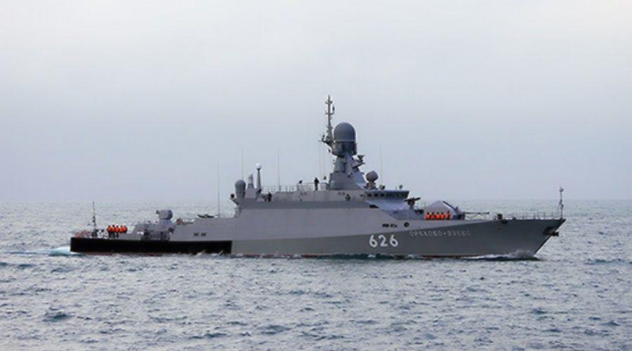 Береговые комплексы ЧФ отработали уничтожение корабля условного противника