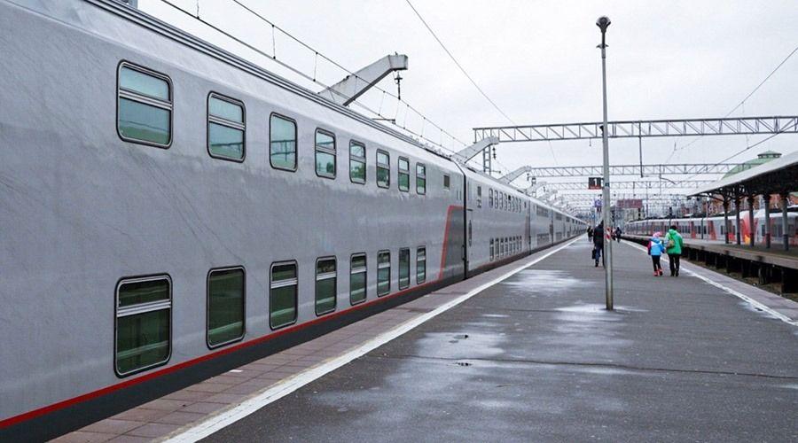 Первый поезд «Москва-Симферополь» прибыл на перрон Казанского вокзала