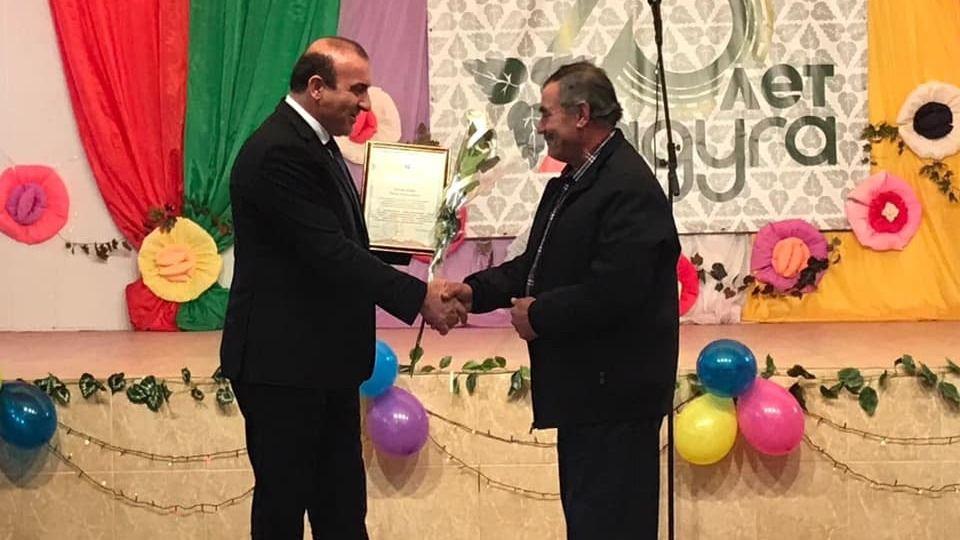 Дионис Алексанов поздравил коллектив Фитосовхоза «Радуга» с 75-летием