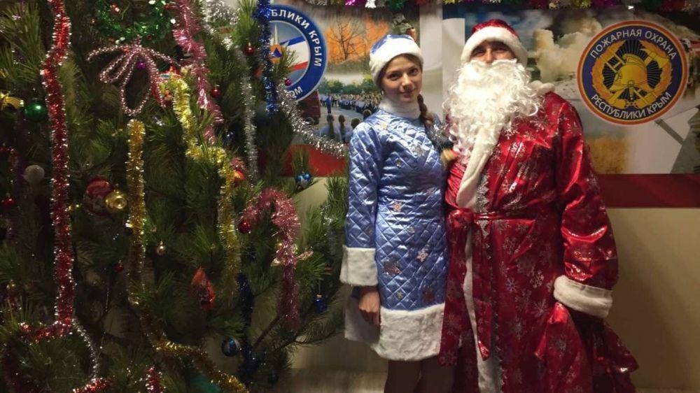 В преддверии Нового года Дед Мороз посетил Министерство чрезвычайных ситуаций