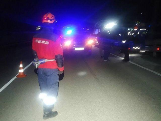 На трассе Севастополь - Ялта иномарка сбила человека