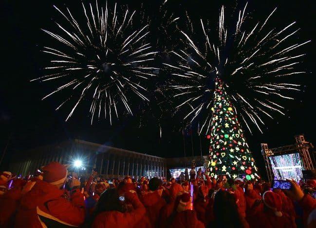 Новый год в «Артеке» встретили дети из 19 стран