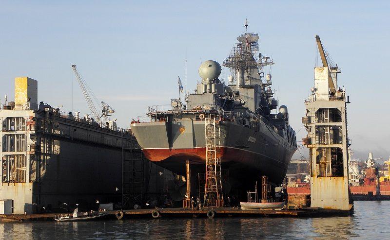 Флагман Черноморского флота выйдет в море после ремонта и модернизации