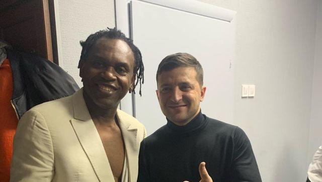 Зеленский заступился за выступавшего в Крыму Доктора Албана