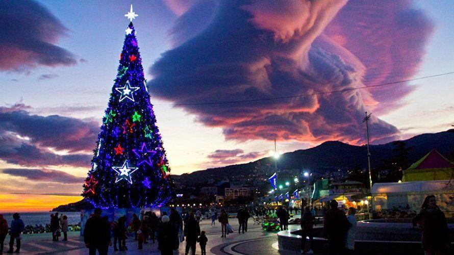 Ялта установила новогодний туристический рекорди стремится его улучшить