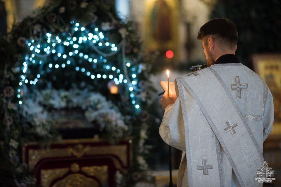 Рождественский сочельник в Свято-Владимирском соборе в Херсонесе