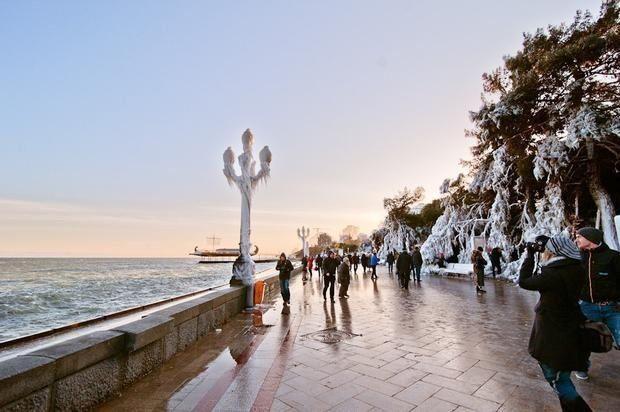 В Крыму ожидают около 200 тысяч туристов в новогодние выходные