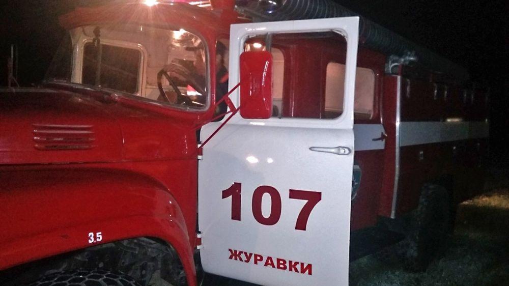 Специалисты ГКУ РК «Пожарная охрана Республики Крым» оказали помощь в ликвидации пожара в Кировском районе