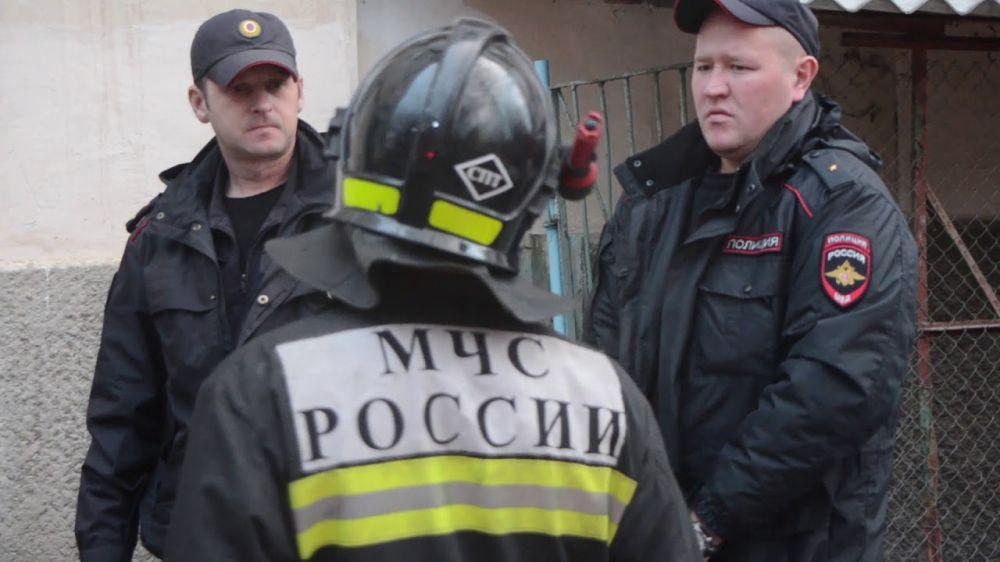 В Севастополе полыхала квартира пятиэтажного дома