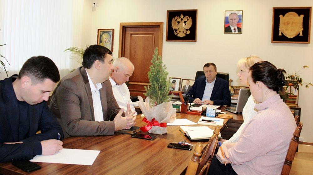 Геннадий Нараев провел первое в наступившем 2020 году аппаратное совещание