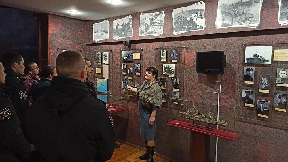 В Евпаторийском краеведческом музее отметили 78-ю годовщину высадки Евпаторийского десанта