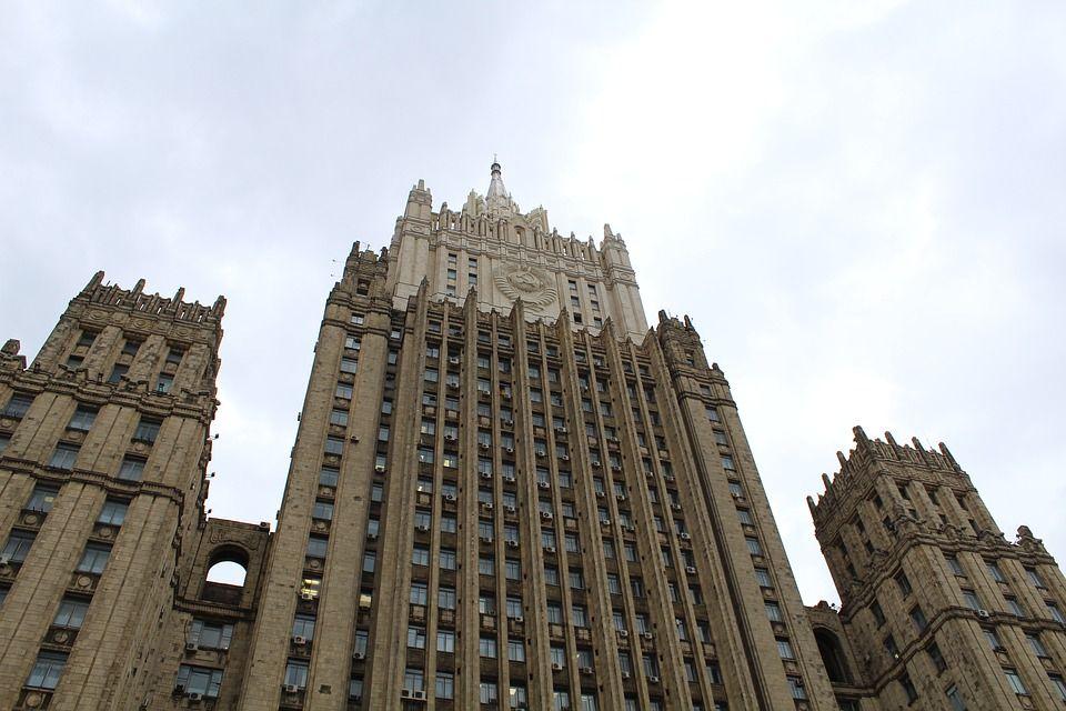 МИД РФ проигнорировал ноту протеста Украины из-за визита Путина в Крым
