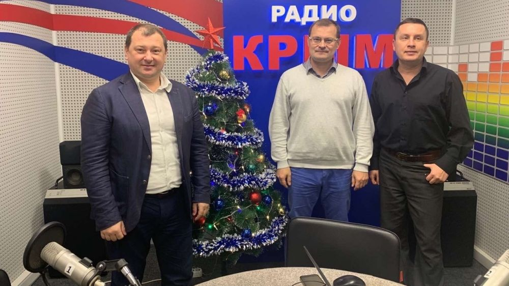Об итогах работы спасателей в период новогодних праздников в эфире радио «Крым»