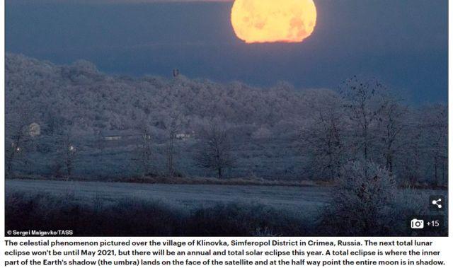 Daily Mail признало Крым частью России