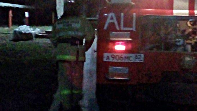 В амбулатории п.Школьное провели ночное пожарно-тактическое занятие