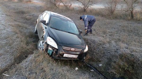 МЧС Республики Крым призывает автомобилистов следить за изменениями погодных условий и соблюдать меры предосторожности