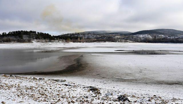 В Крыму сообщили оперативную информацию о наполненности водохранилищ