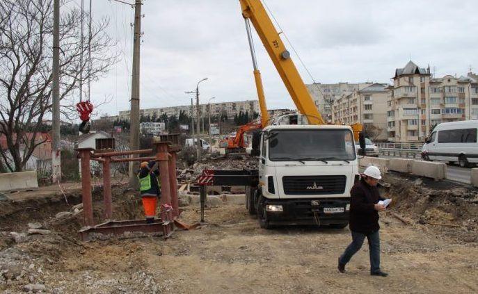 В Карантинной балке стартовал второй этап реконструкции моста