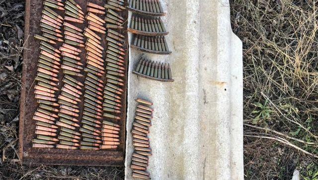 В Крыму нашли сотни бесхозных боеприпасов