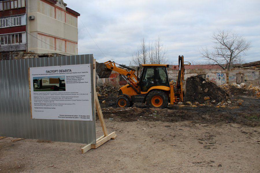 В Гагаринском районе Севастополя затеяли ещё одну стройку — возводят оздоровительный комплекс