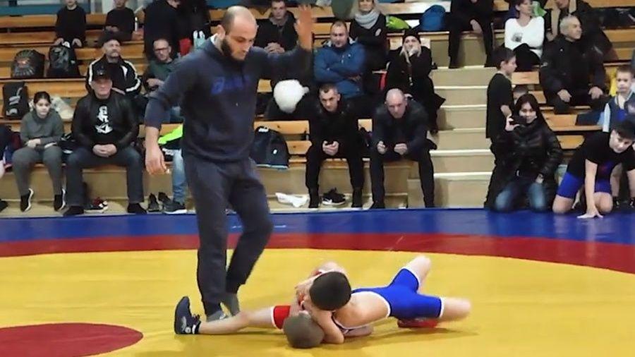 Более ста юных спортсменов приняли участие в первенстве Алушты по вольной борьбе