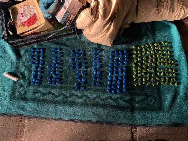 В Евпатории сотрудники полиции изъяли из незаконного оборота наркотическое вещество в крупном размере