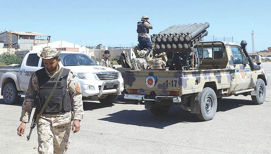 Генерал против сына экс-министра, или как сшить ливийское одеяло