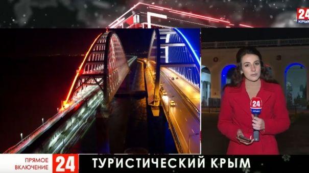 Сколько туристов посетили Крым в зимние праздники
