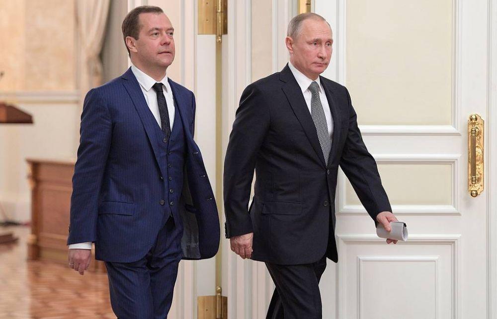 Президент назначил Медведева на новую должность