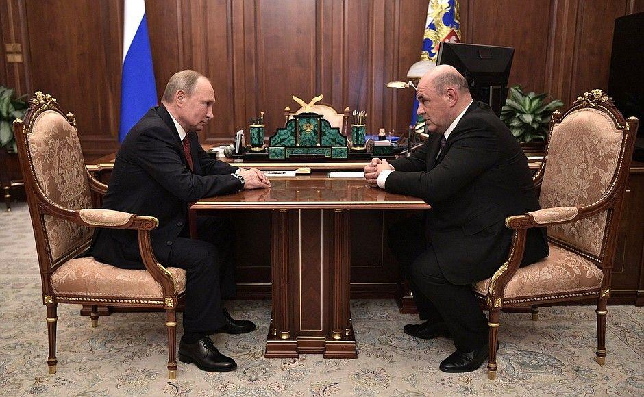 Мишустин попал в базу украинского «Миротворца»