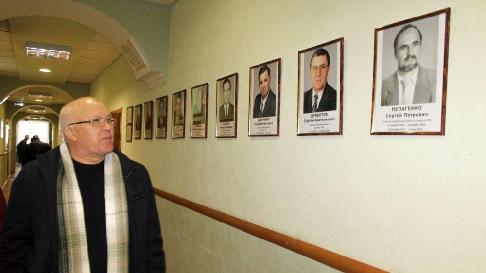 Андрей Рюмшин: В Минсельхозе Крыма презентована галерея министров, возглавлявших агропром региона с 1991 года